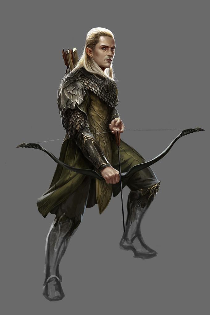 The Hobbit Armies Of Third Age Legolas 01