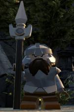 Armored dwarf guard