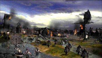 """Bitwa pod Dale w grze <i><a href=""""/pl/wiki/W%C5%82adca_Pier%C5%9Bcieni:_Bitwa_o_%C5%9Ar%C3%B3dziemie_II"""" title=""""Władca Pierścieni: Bitwa o Śródziemie II"""">Władca Pierścieni: Bitwa o Śródziemie II</a></i>"""