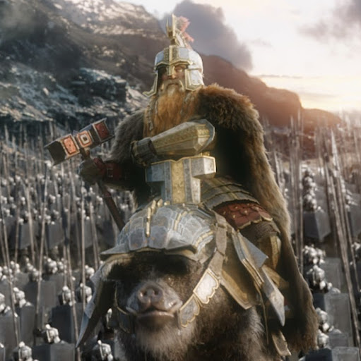 Image result for dwarves on boars in hobbit film