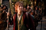 Bilbo with Dwarves