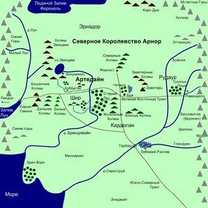 Map Arnor