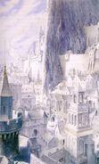 Минас-Тирит во время процветания