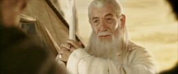 Gandalf with Narya