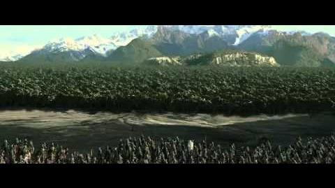 The Lord of the Rings - The Ents kills Uruk hai (Extended Edition HD)