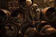 The Hobbit - The Desolation of Smaug - Packing the Dwarves