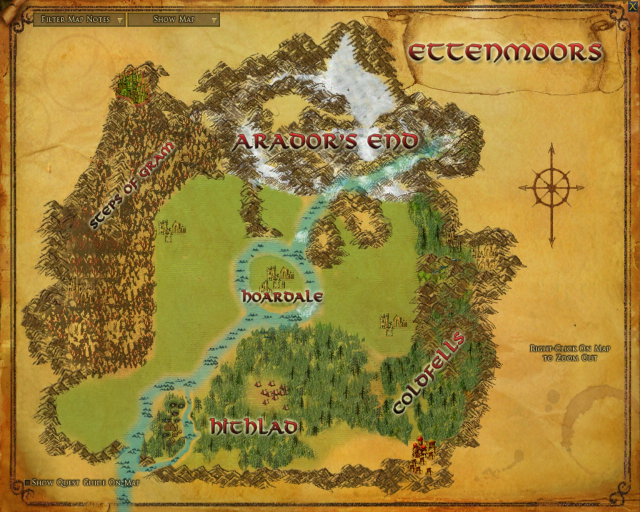 Lord Of The Rings Online World Map.Ettenmoors The One Wiki To Rule Them All Fandom Powered By Wikia