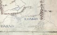 Khand - Amazon's map