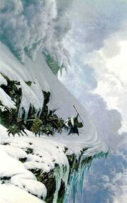 Ted Nasmith - The Anger of the Mountain