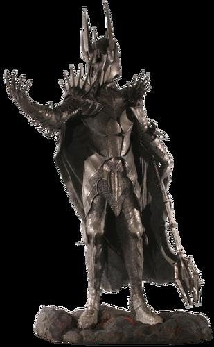 """Sauron w cielesnej postaci w trylogii filmowej <i><a href=""""/pl/wiki/W%C5%82adca_Pier%C5%9Bcieni_(film)"""" title=""""Władca Pierścieni (film)"""" class=""""mw-redirect"""">Władca Pierścieni</a></i> <a href=""""/pl/wiki/Peter_Jackson"""" title=""""Peter Jackson"""">Petera Jacksona</a>"""
