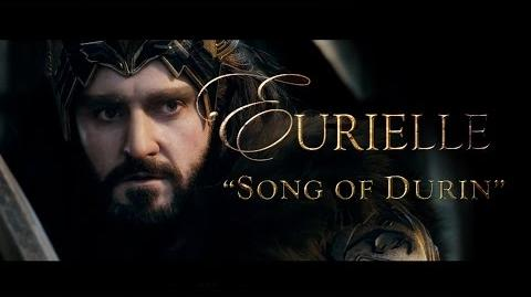 The Hobbit (Part 1) 'Song Of Durin' by Eurielle - Lyric Video (Lyrics by J.R.R