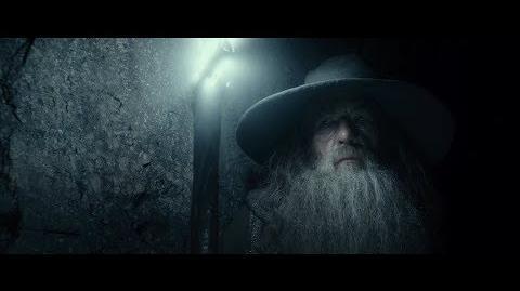 Гэндальф осматривает могилу Короля-Чародея. HD