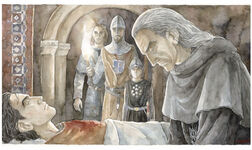 Denethor and Faramir by Anke EiBmann