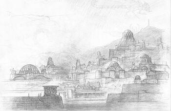 Umbar w wyobrażeniu Turnera Mohana