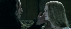 Grima and Eowyn - Two Towers