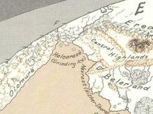 Helcaraxëmap
