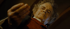 Bilbo gives up the Ring