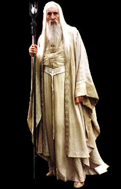 """Saruman w filmowej adaptacji <a href=""""/pl/wiki/Peter_Jackson"""" title=""""Peter Jackson"""">Petera Jacksona</a>"""