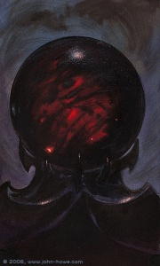 180px-John Howe - Saruman's Palantir