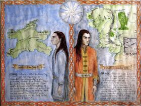 Elros and Elrond by WilderWein77