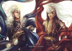 Fingolfin-Feanor by Vironia255