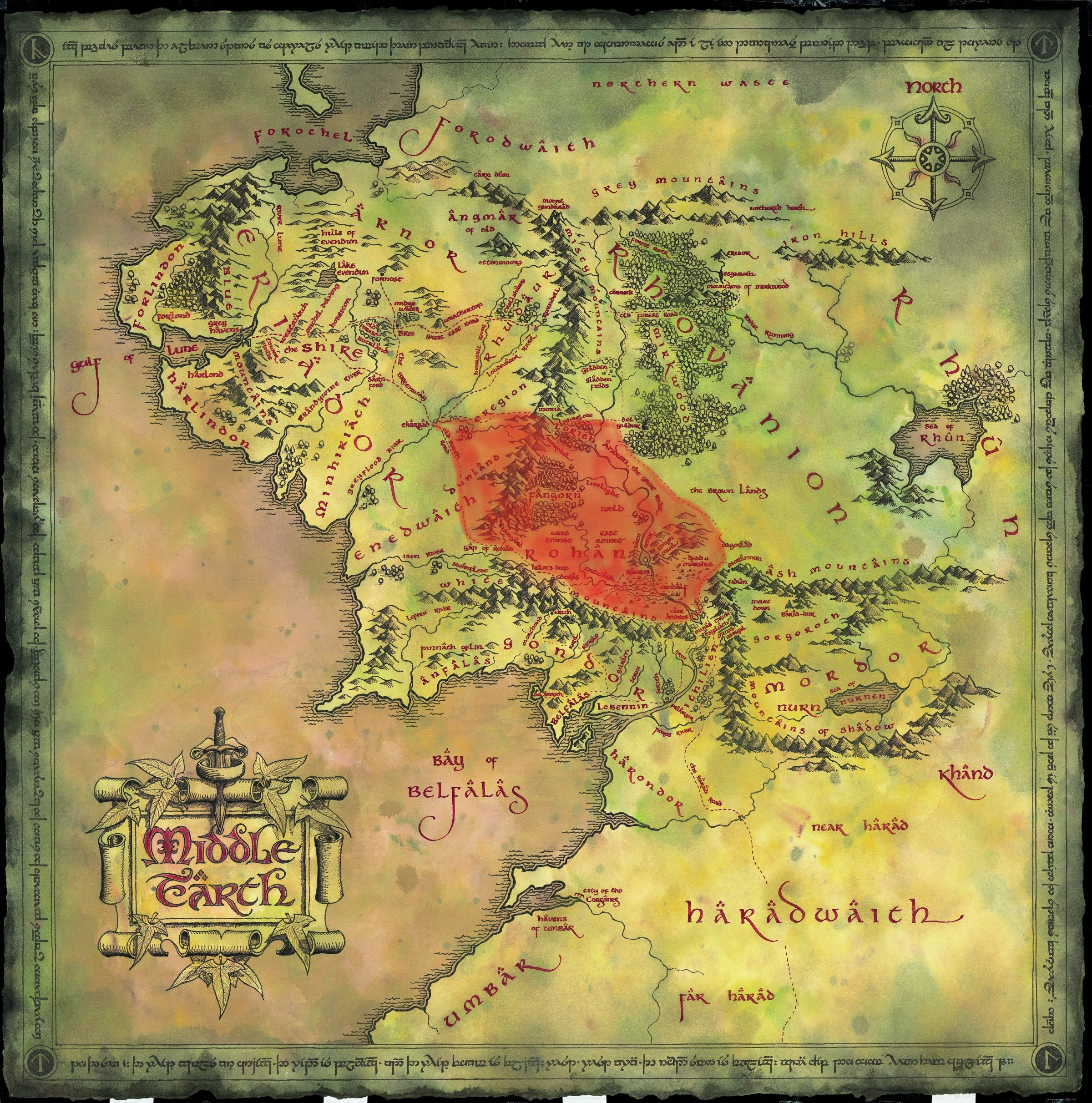 Elves (Middle-earth): history, names. Stories of Middle-earth 8