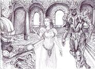 Лютиэн, Мелькор и Саурон