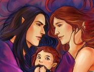 Feanor-Nerdanel-Maedhros by ForeverMedhok-sfd
