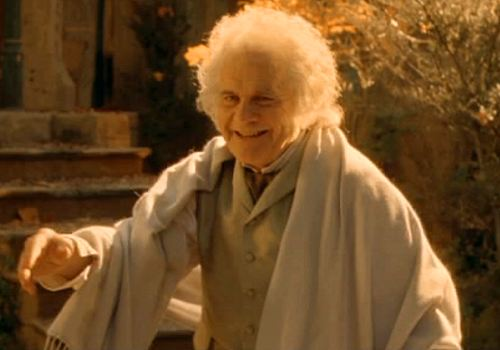 Bilbo Baggins At Rivendell
