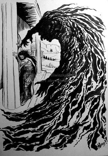 Atak Melkora na Finwëgo – autorstwa Barbary Śliwińskiej