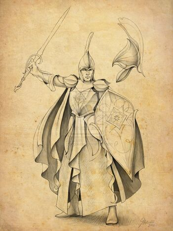 Fingolfin – autorstwa Grzegorza Wlazło