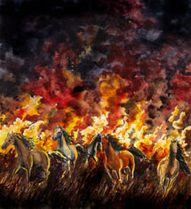 The battle of sudden flame by Filat