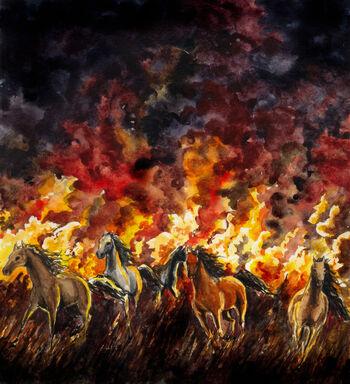Dagor Bragollach – autorstwa Marii Filatovej