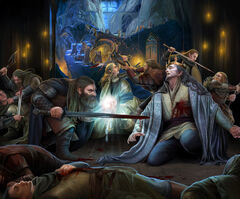 Death of thingol by steamey-d8xghim