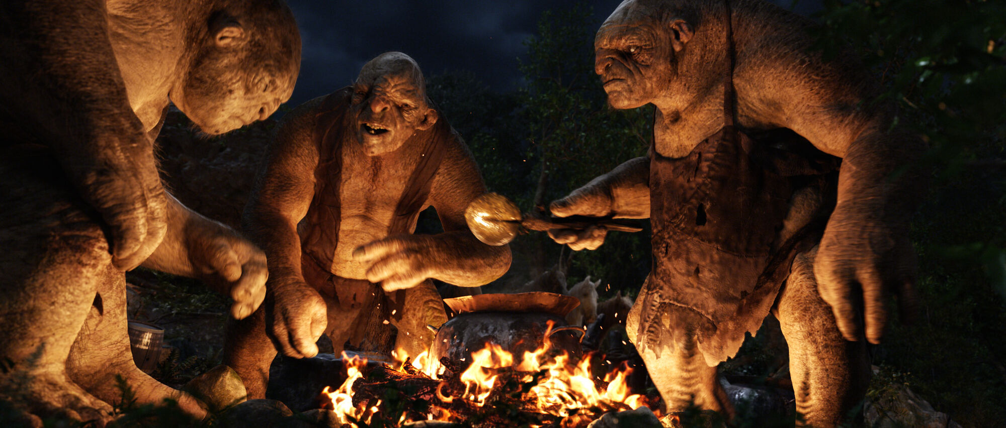 Image result for trolls in the hobbit
