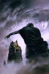Morgoth bestraft Húrin