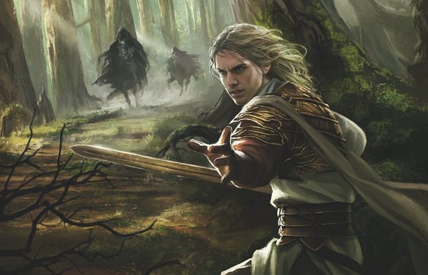 Glorfindel Travels to Moria's Foundations of Stone - Fantasy ...