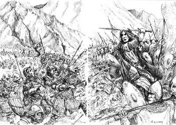 Bitwa Nieprzeliczonych Łez, autorstwa Tulikoura (DeviantArt)