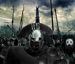 Demon Orc army