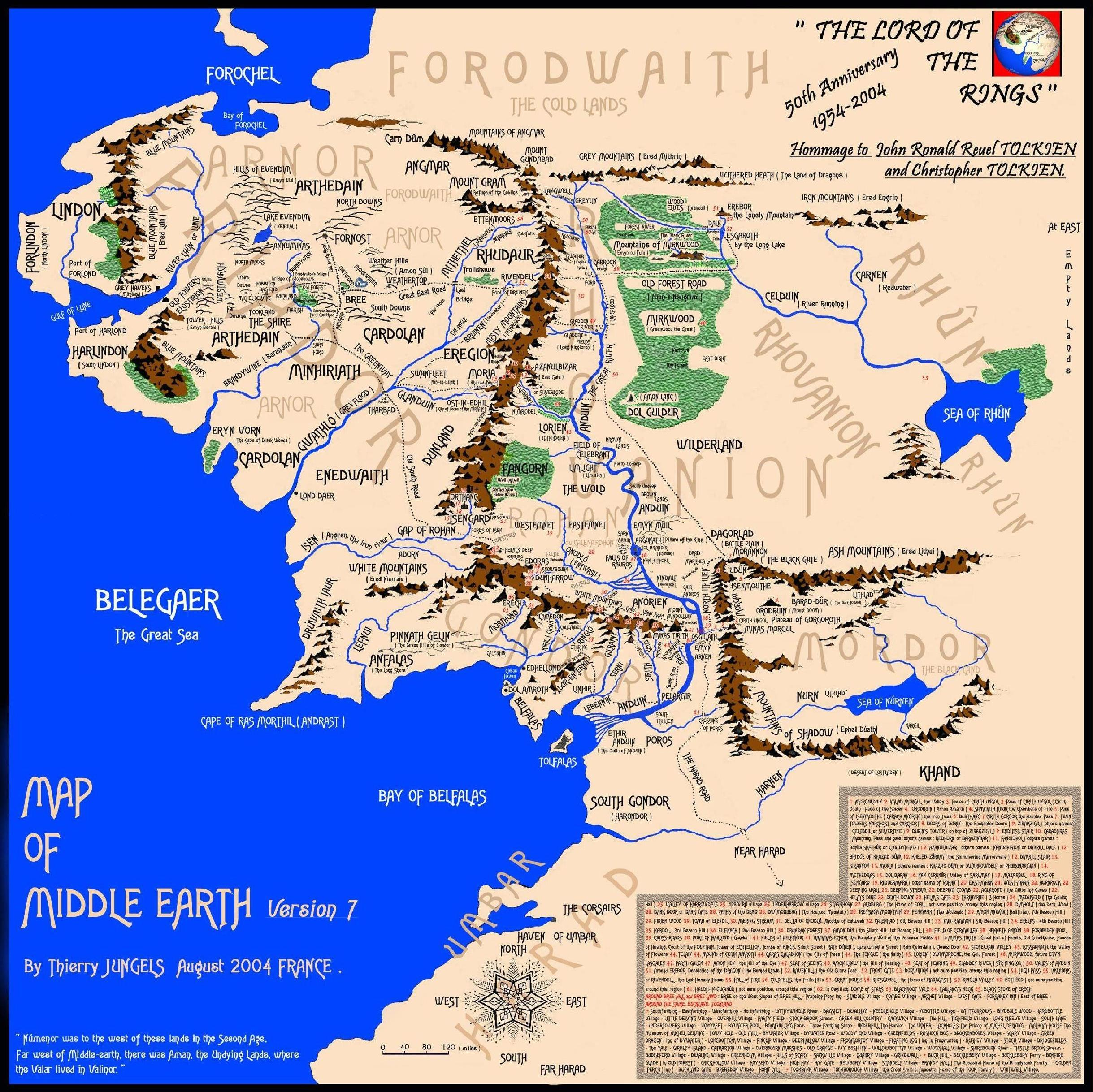 map of middle earth version 7