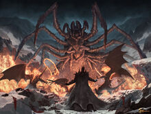 Morgoth and Ungoliant