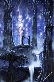 Melian and thingol by kiprasmussen