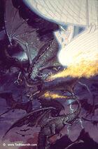 Earendil und der Kampf mit Adlern und Drachen