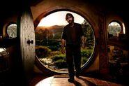 The Hobbit (film series) - Peter Jackson in Bag End 1
