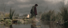 Frodo in the Dead Marshes
