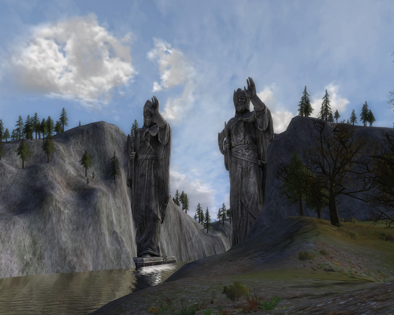 New Zealand Lord of the Rings River Anduin Argonath Queenstown ...