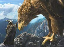 Gandalf I Gwaihir