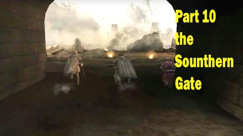 LotR Return of the King - Walkthrough Game - the Southern Gate - Part 10
