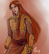 Maedhros doodle by mellorianj-d78h17g