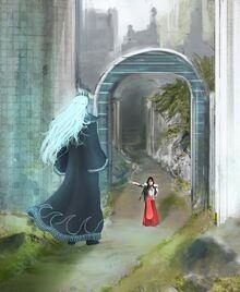 Melkor and Feanor by Nequarilj